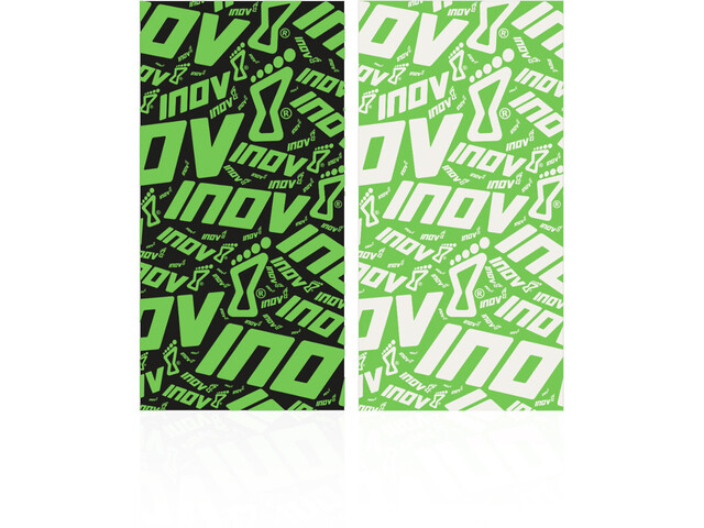 inov-8 Tour de cour de running, black/green/green/white